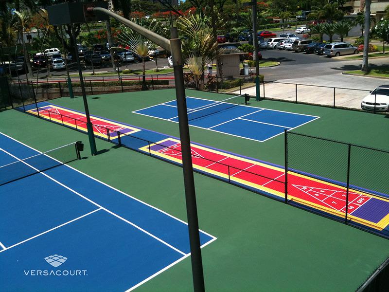 Grass Amp More Outdoor Services Tennis Court Construction